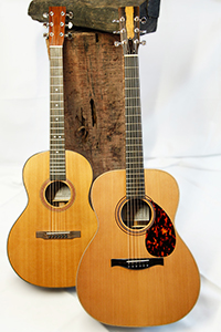 Gitarrenmodelle Set von FSH, Hubert Rumohr, Gitarrenbau Hamburg